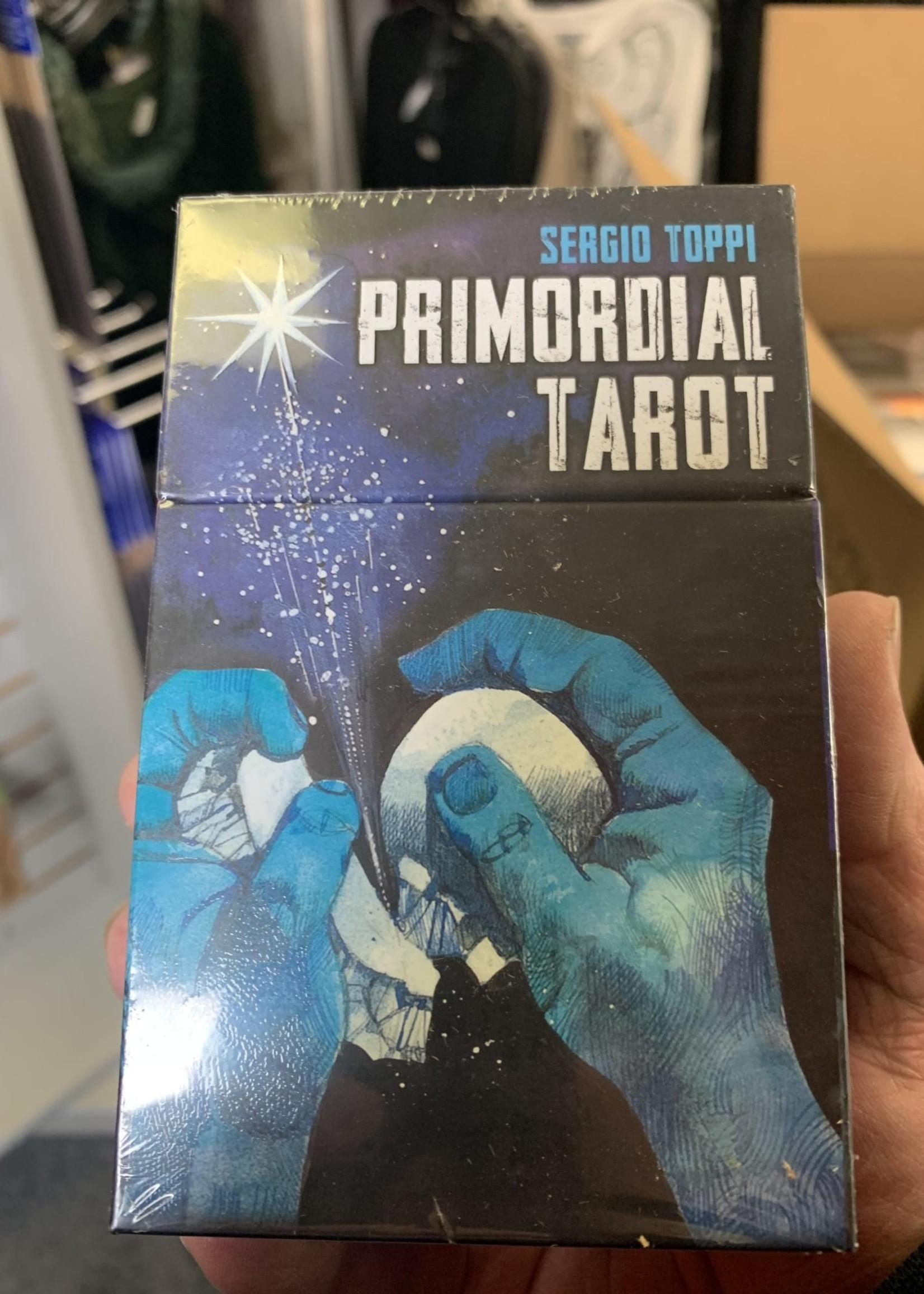 Primoridial Tarot -  BY PIETRO ALLIGO, MANFREDI TORALDO, SERGIO TOPPI
