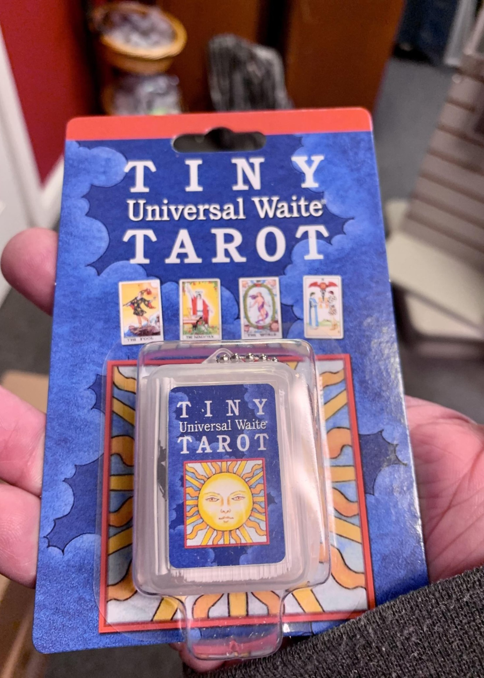 Tiny - Rider-Waite Tarot deck