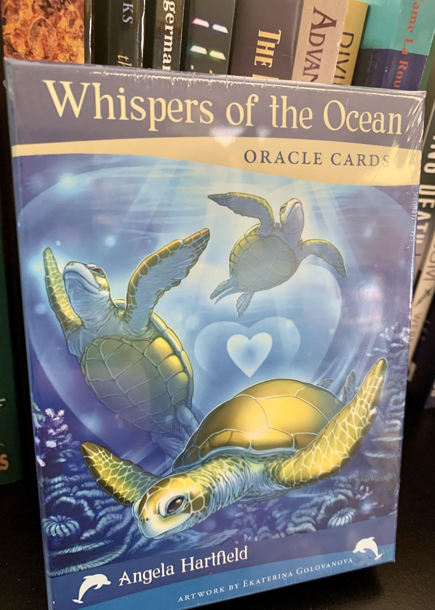 Whispers of the Ocean Oracle Cards - Whispers of the Ocean Oracle Cards