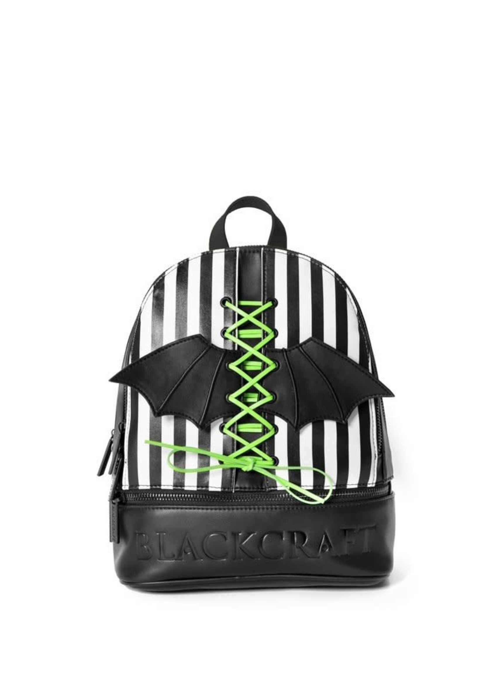 Blackcraft Cult Blackcraft Cult Bat Wing Stripe - Lace Up Backpack