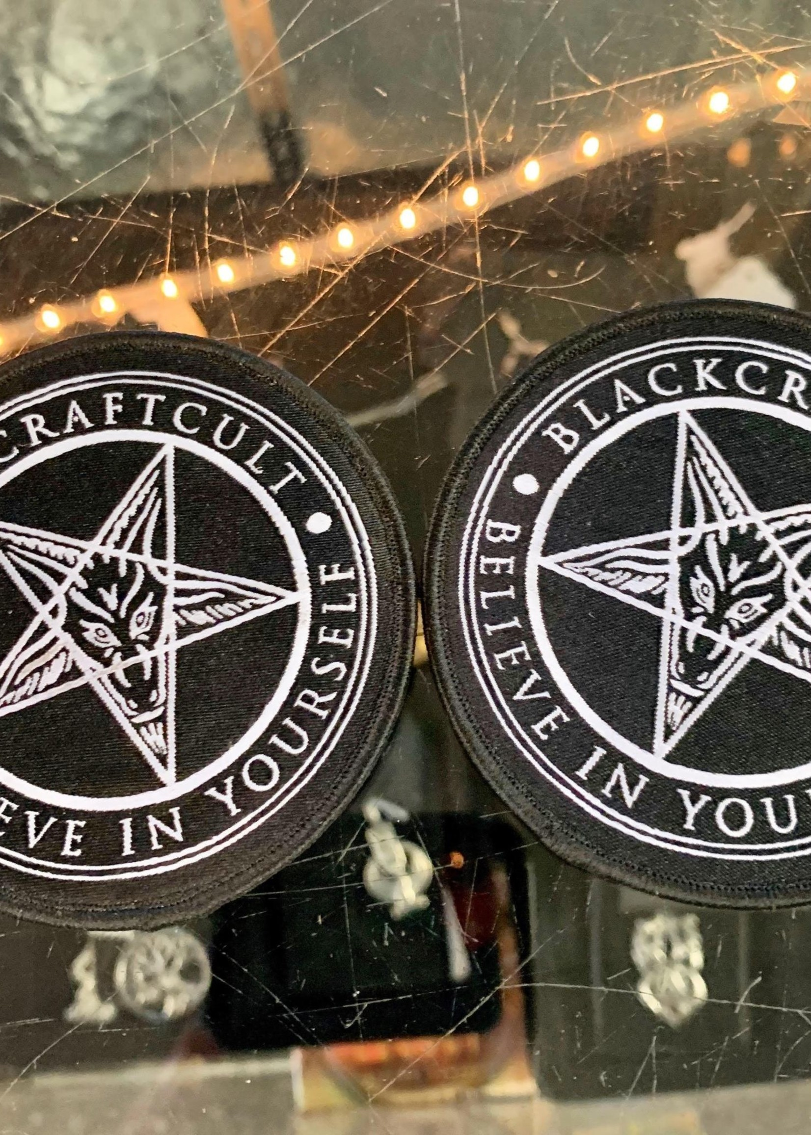 Blackcraft Cult Blackcraft Cult Believe In Yourself Iron-on Patch