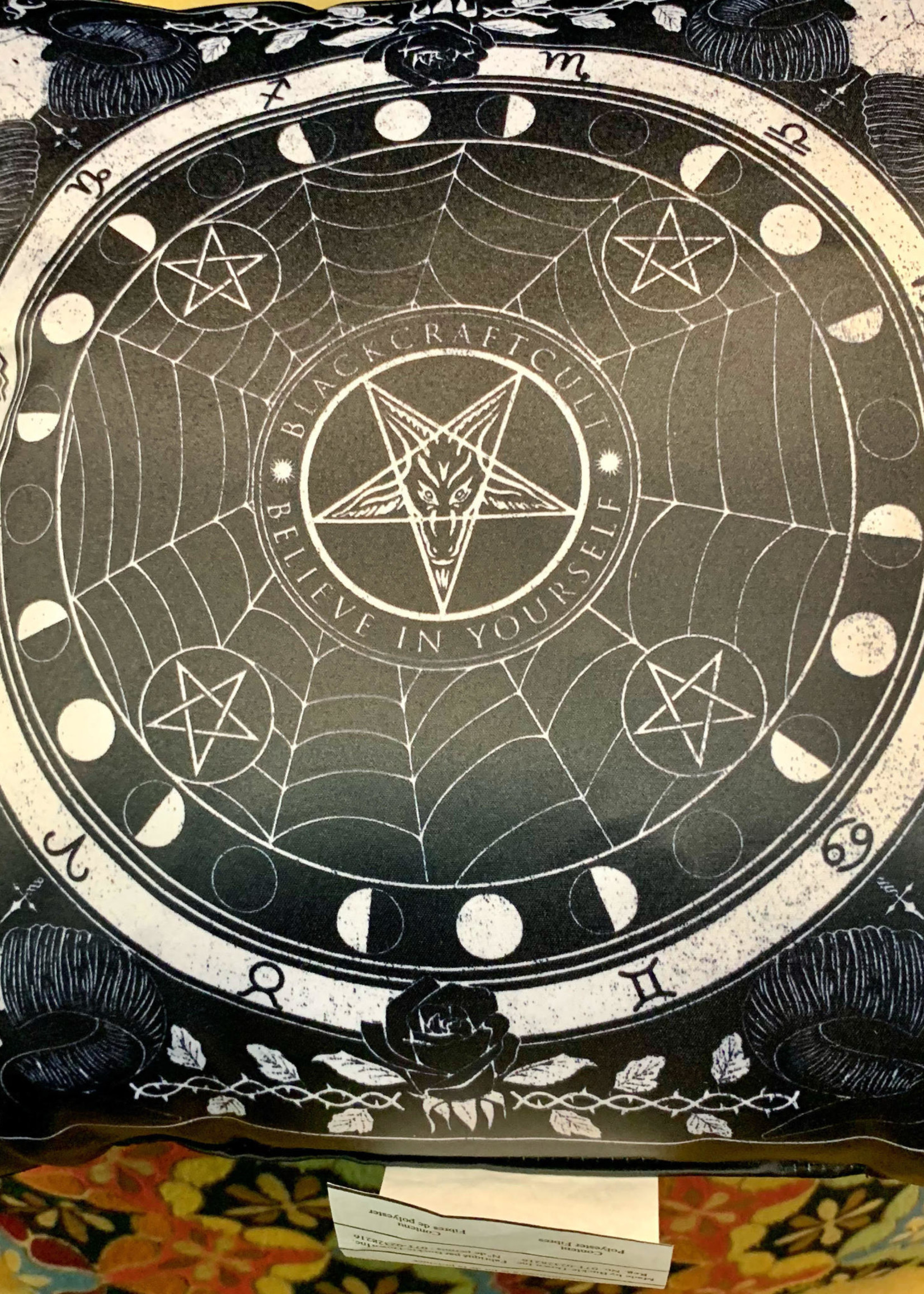 Blackcraft Cult Dream State Throw Pillow