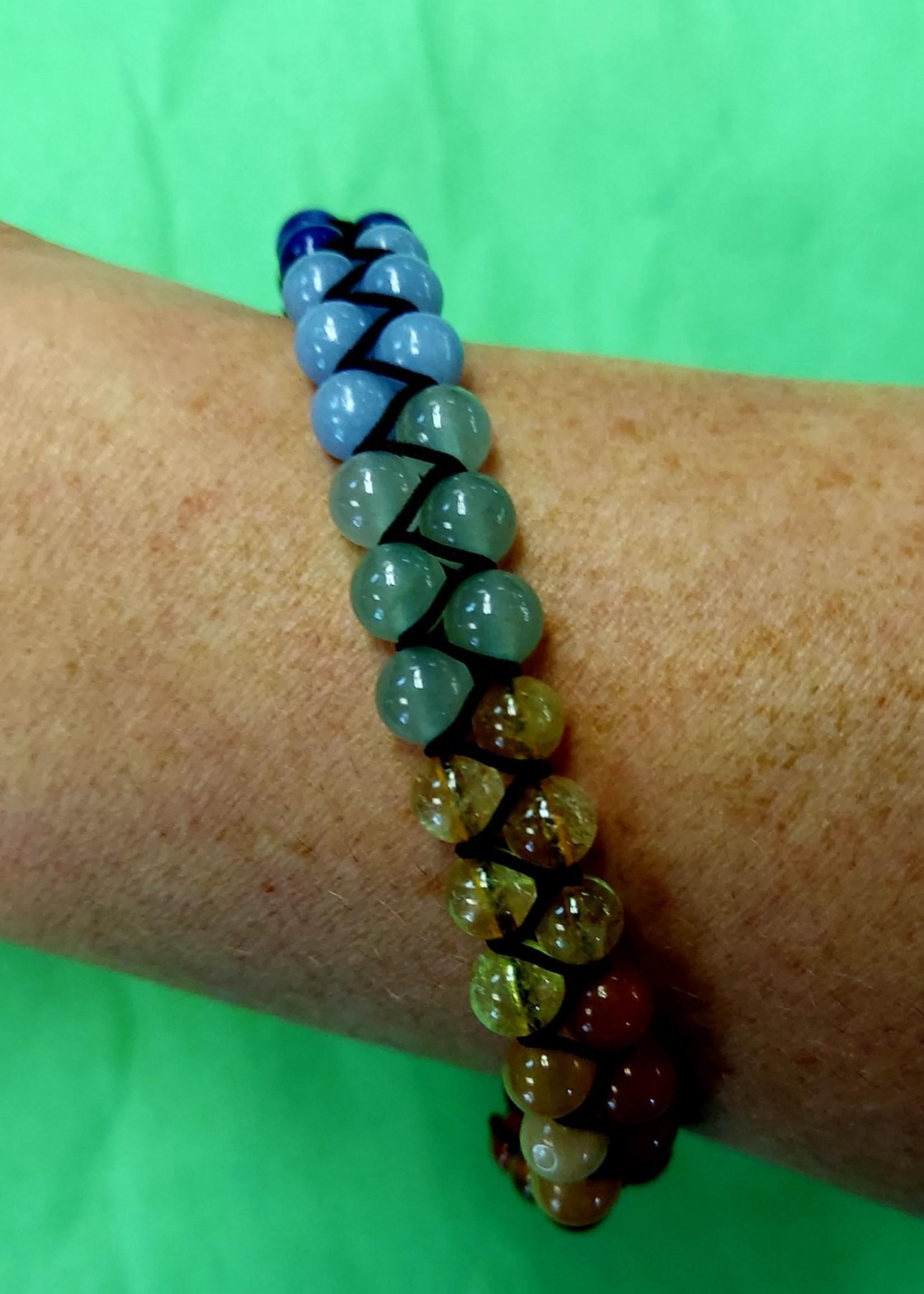 Double Row Chakra Bracelets