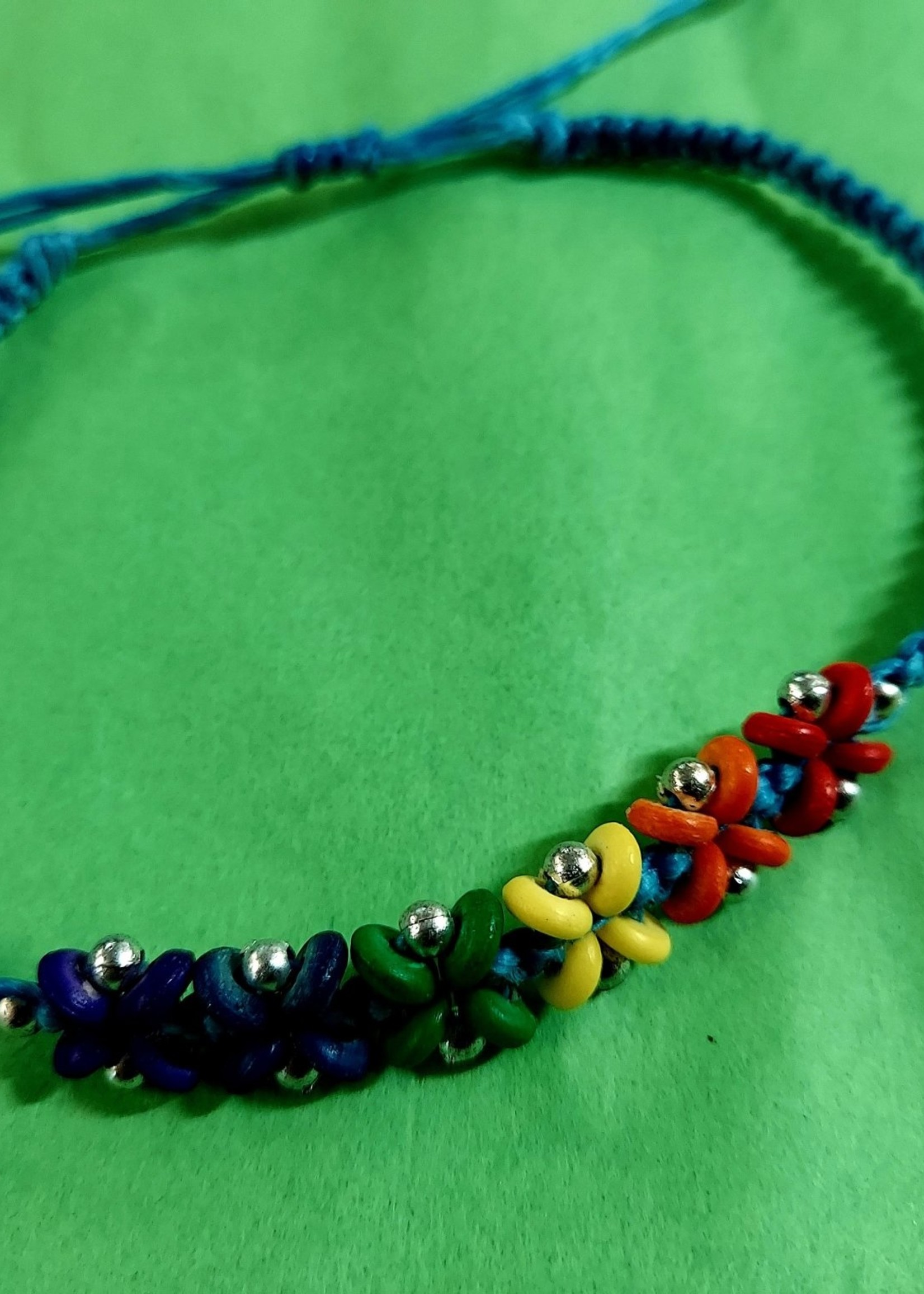 Flower Ankle Bracelets