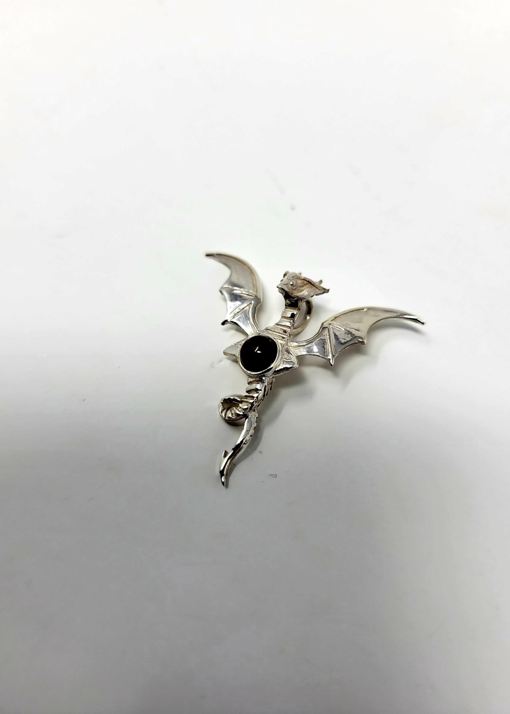 Flying Dragon w/Assorted Gemstone