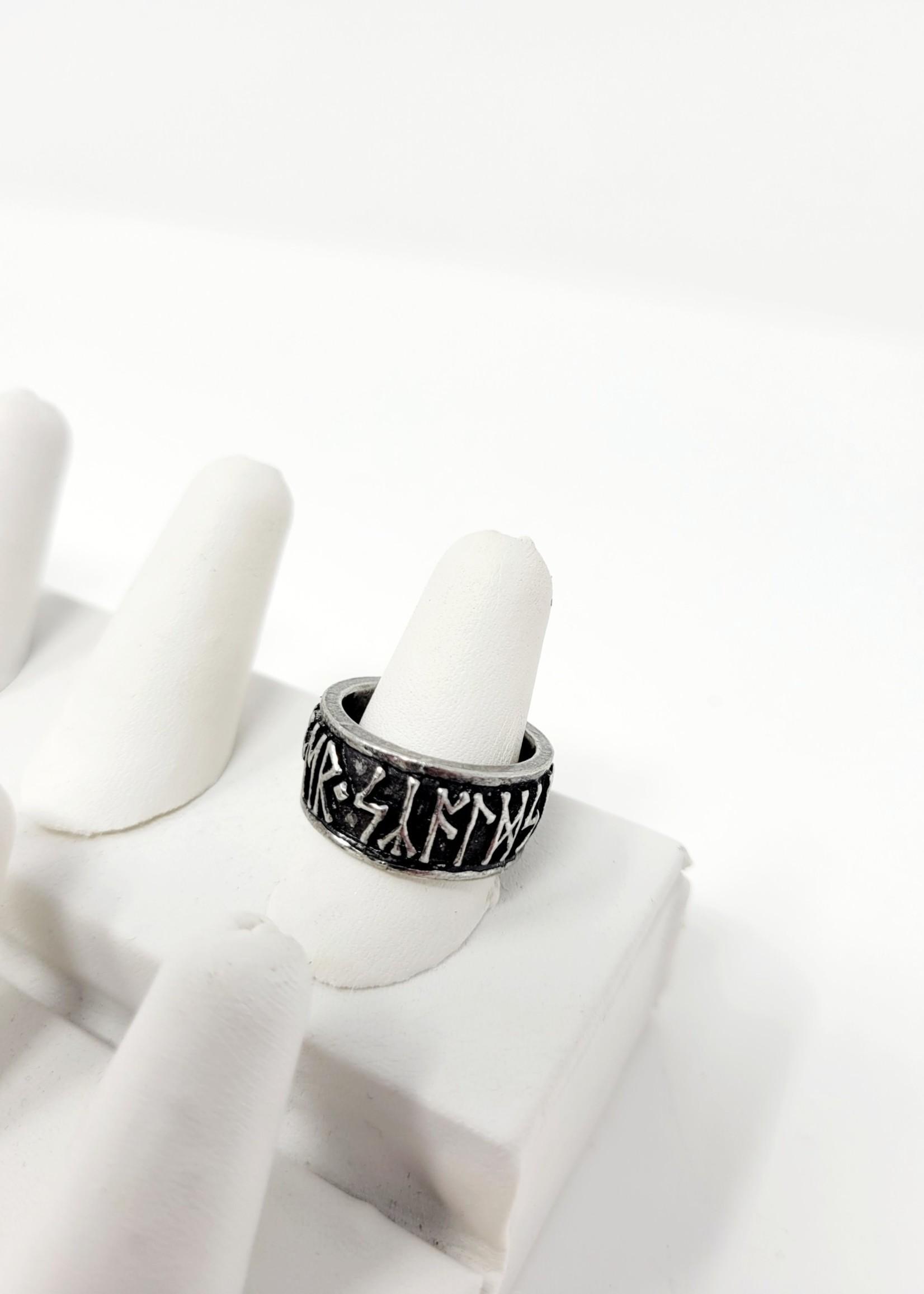 Rune Band Ring