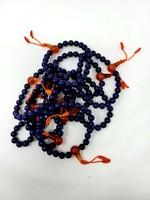 Lapis Lazuli Bracelet w/Carnelian Guru Bead