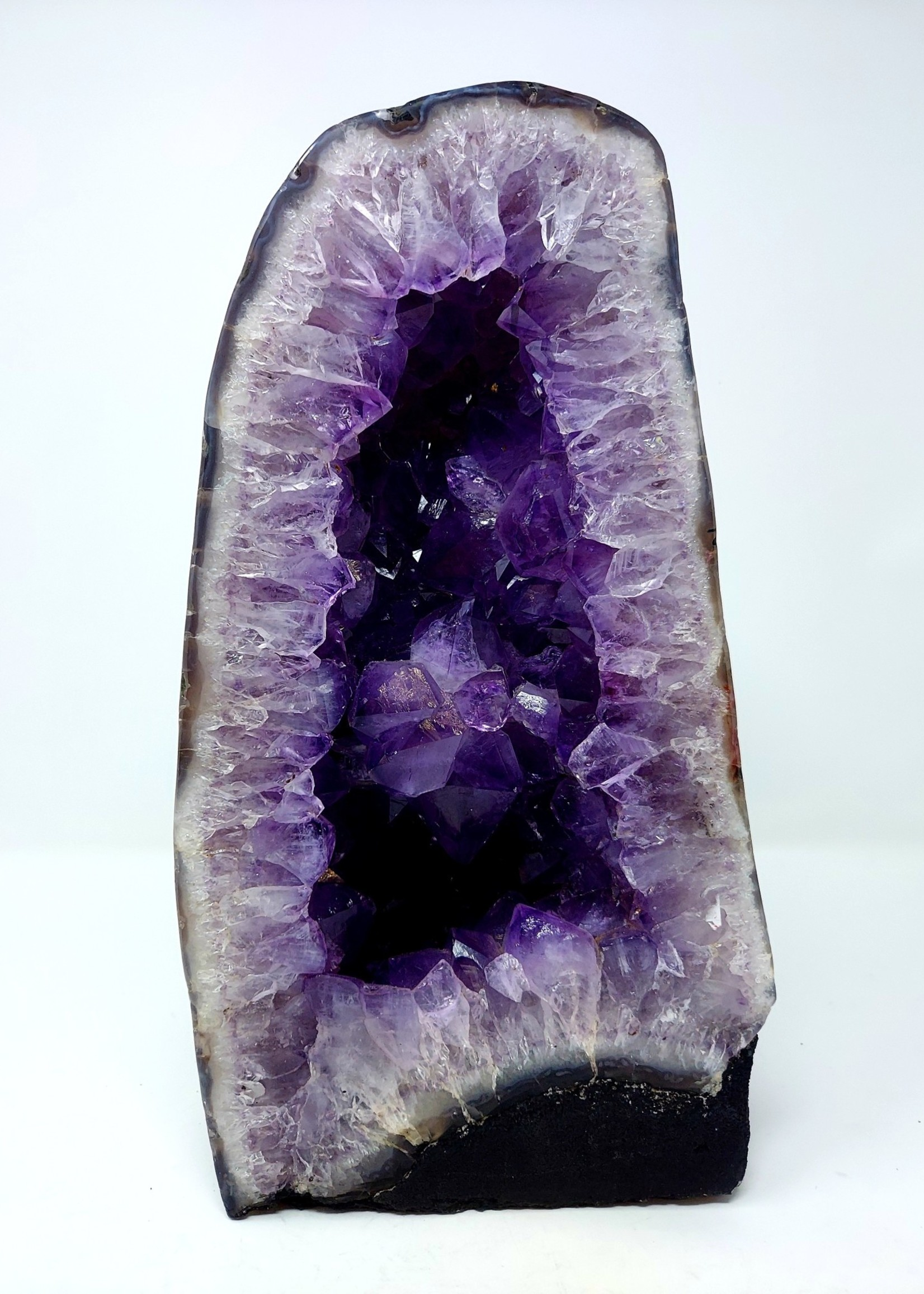 Fully Polished Amethyst Cathedral 21.56lbs