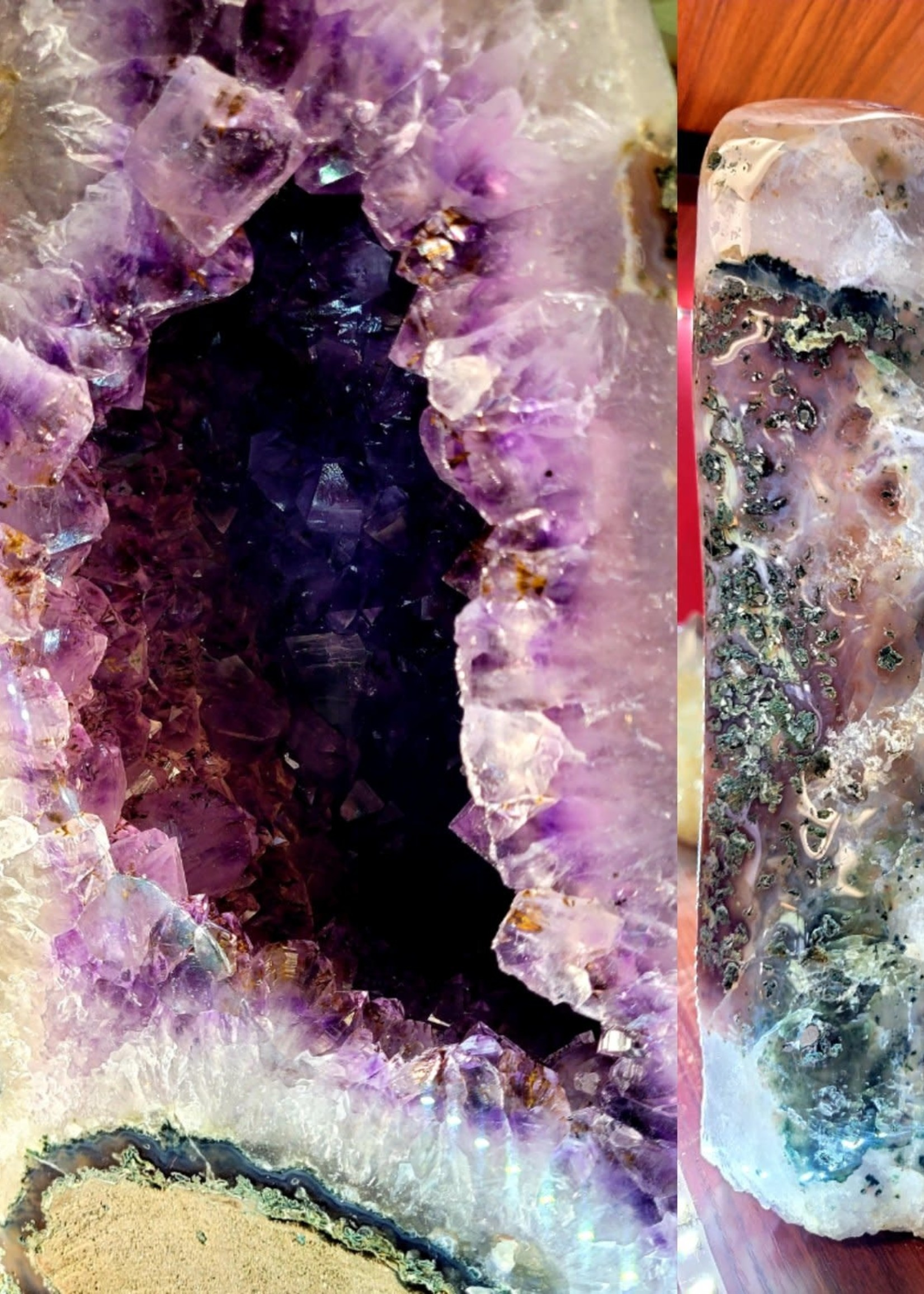 Fully Polished Amethyst Cathedral 17.61lbs