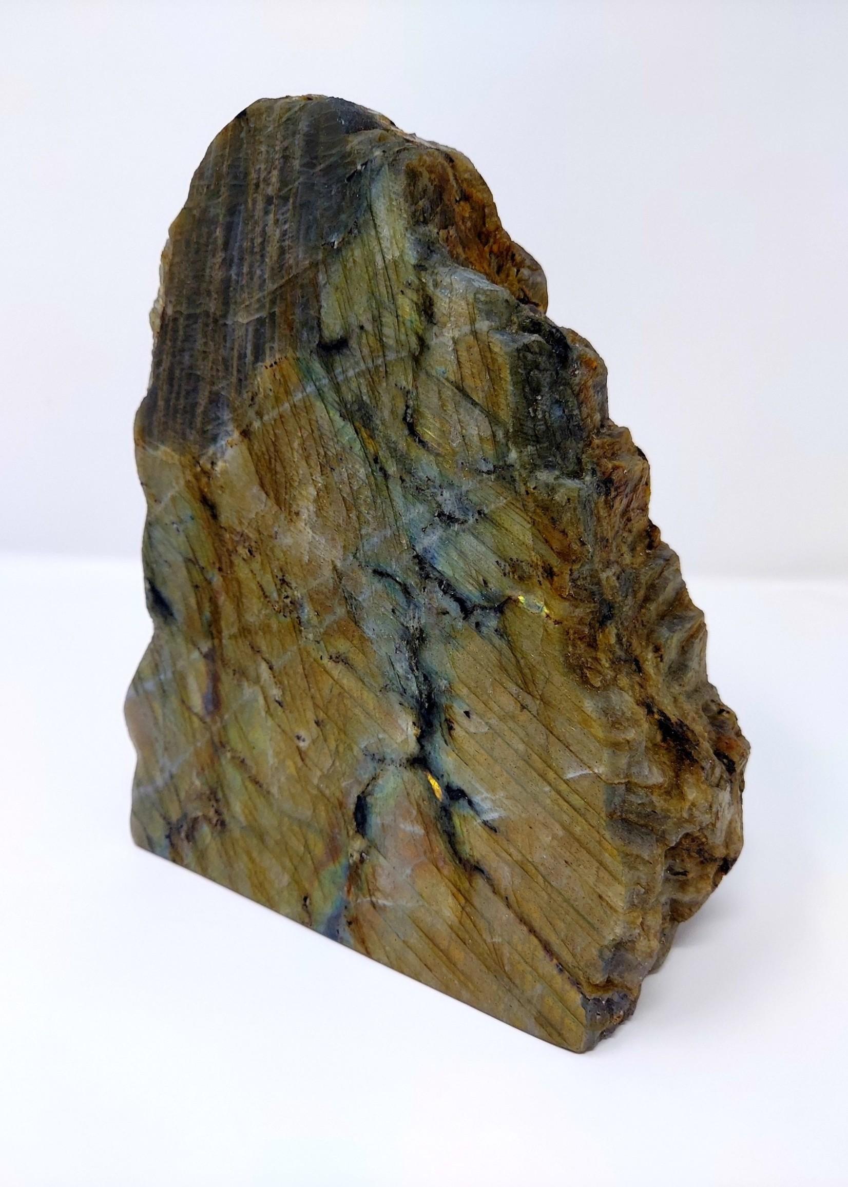 Labradorite Fire Plaque 6.6 Lbs
