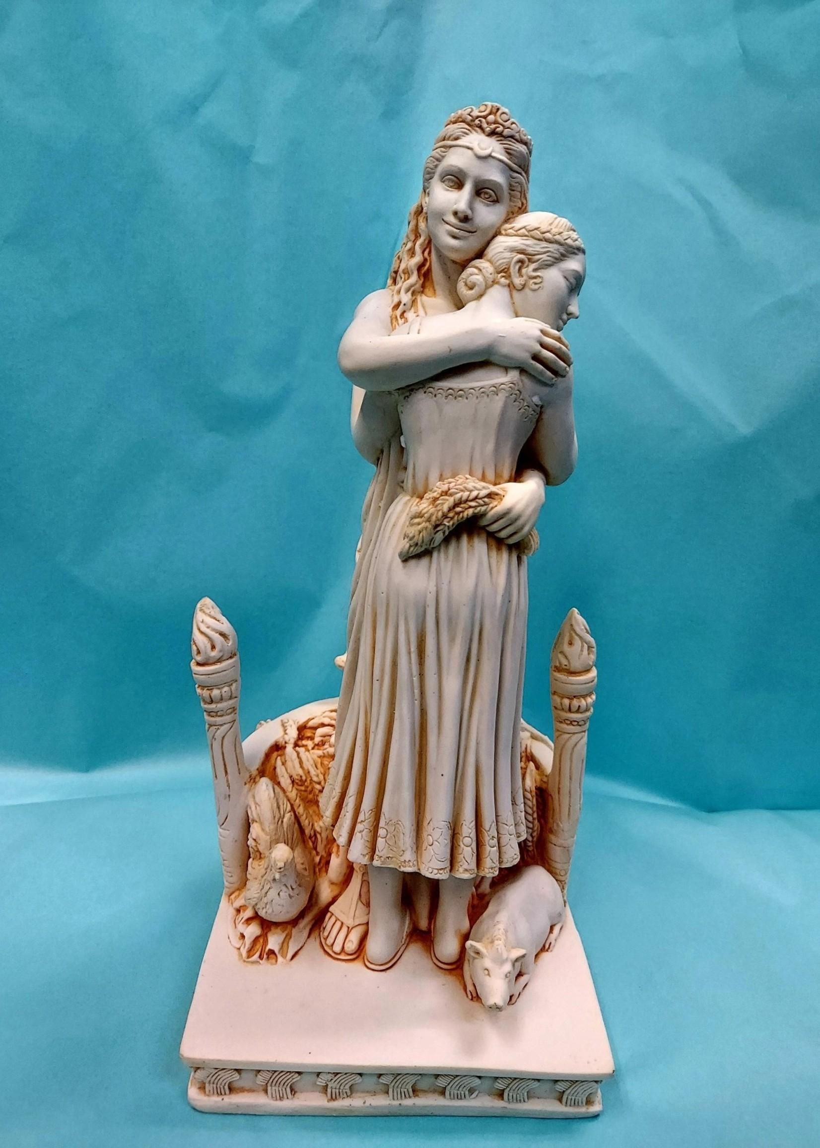 Demeter Hugging Persephone