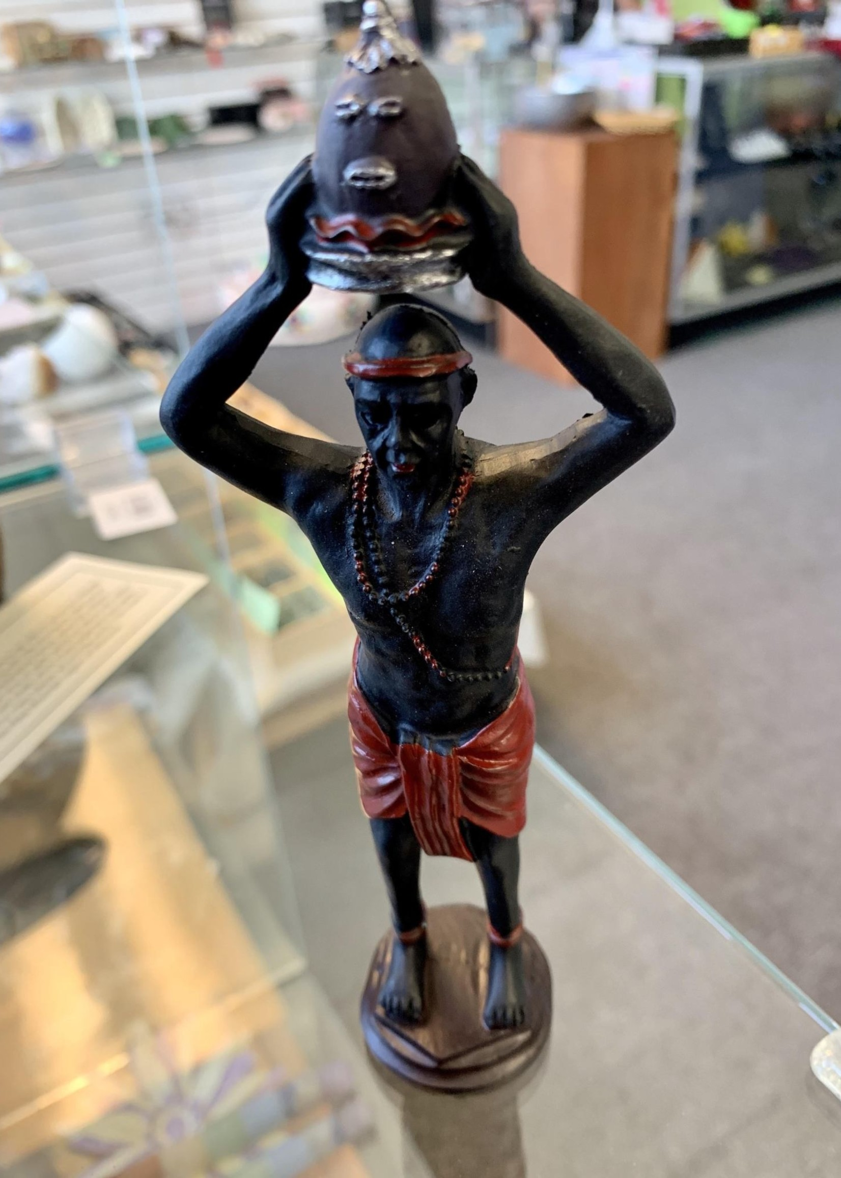 """Elegua (statue is approximately 5"""" in height)"""
