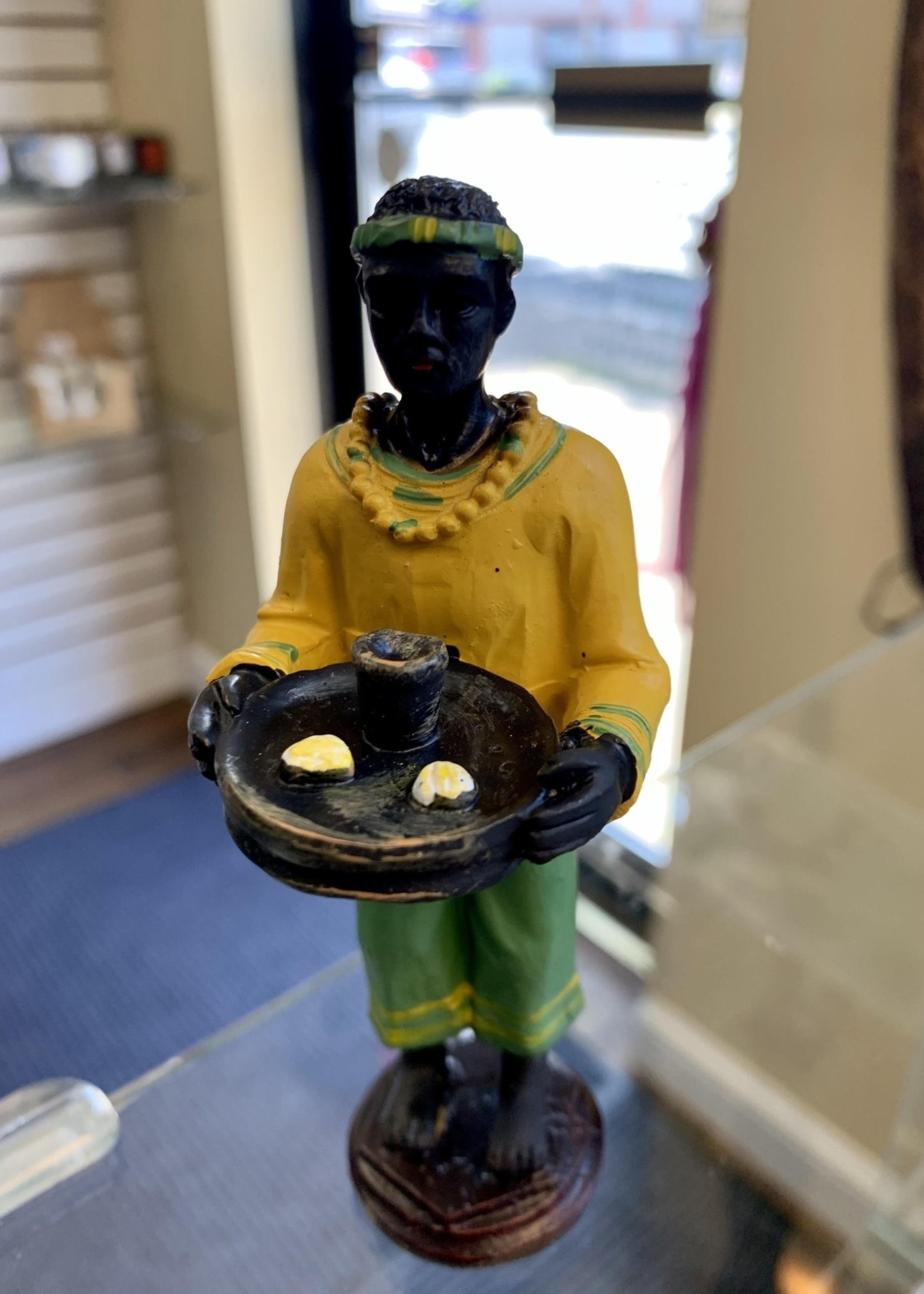 """Orunla/Orula (statue is approximately 5"""" in height)"""