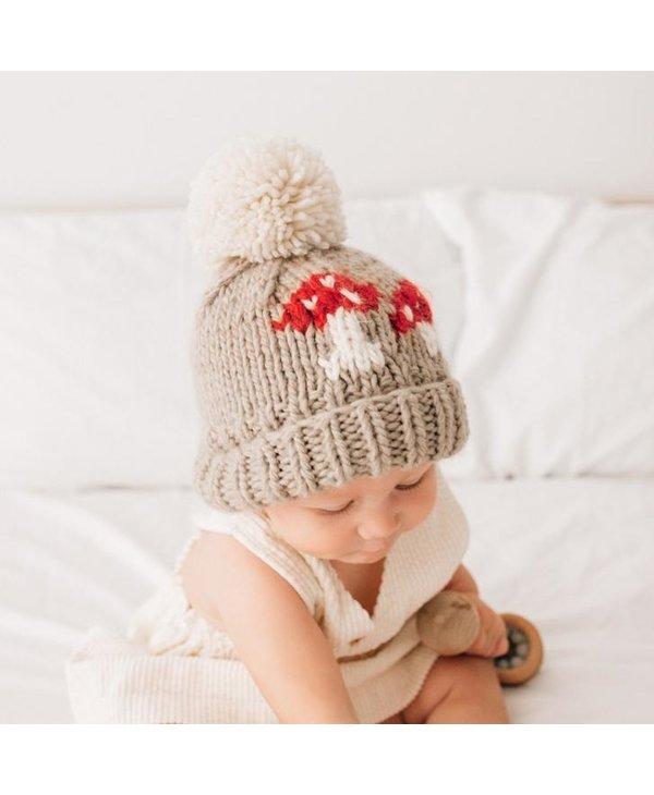 Mushroom Knit Beanie