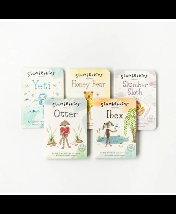 Slumberkin Caring Book Set