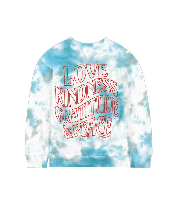 Teal Love Sweatshirt