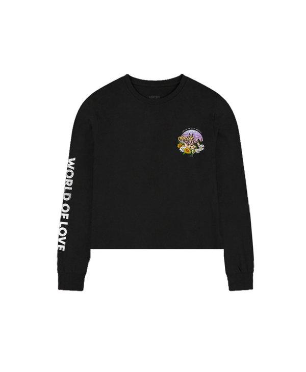 Smile Crop Shirt