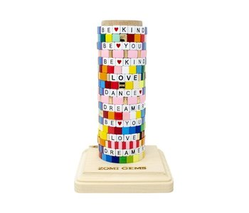 Rainbow Tile Bracelet