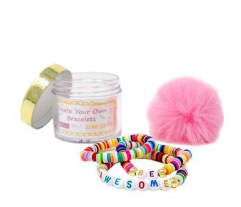 DIY Bead Message Bracelet