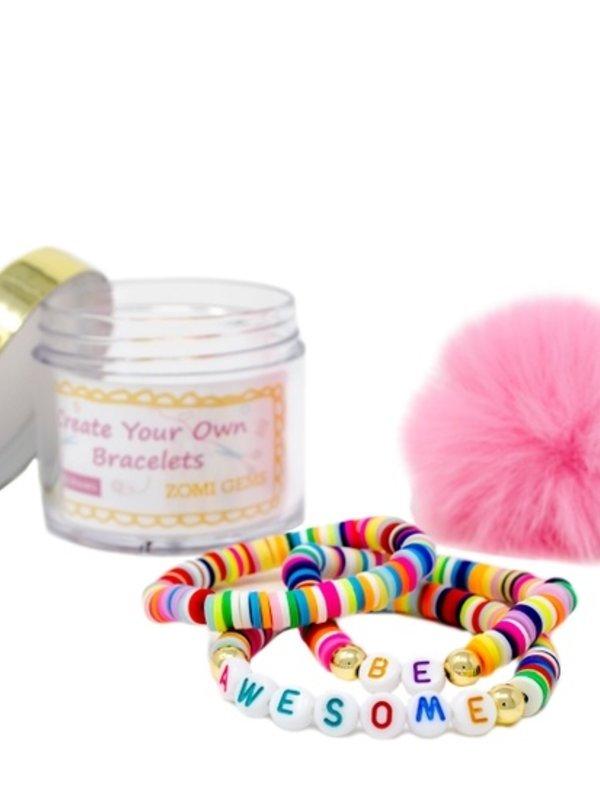 Zomi Gems DIY Bead Message Bracelet