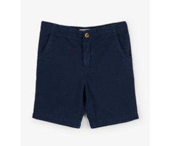 Navy Twill Shorts