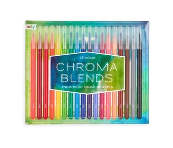 Chromablend Brush Markers