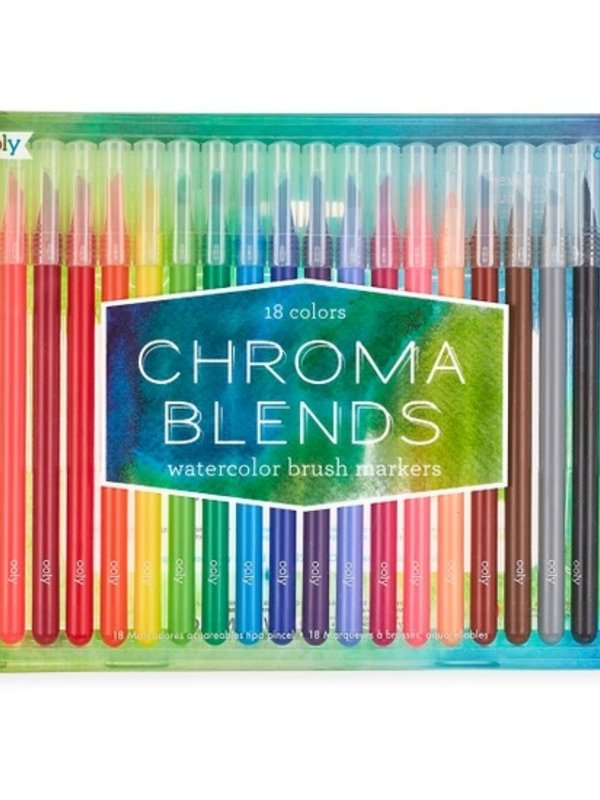 Ooly Chromablend Brush Markers