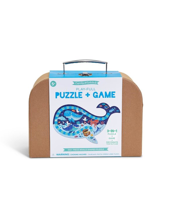 Whale Puzzle Game
