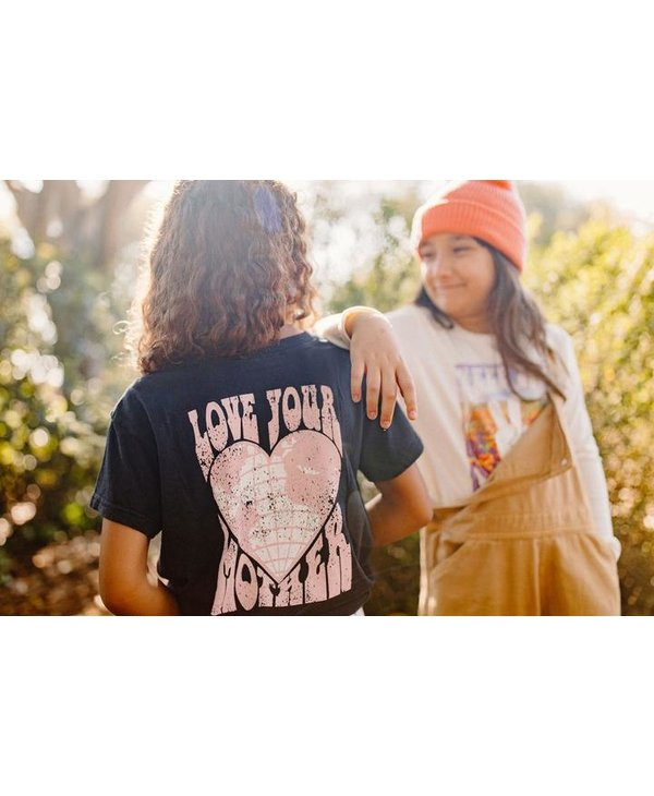 Love Your Mother Cropped Tee