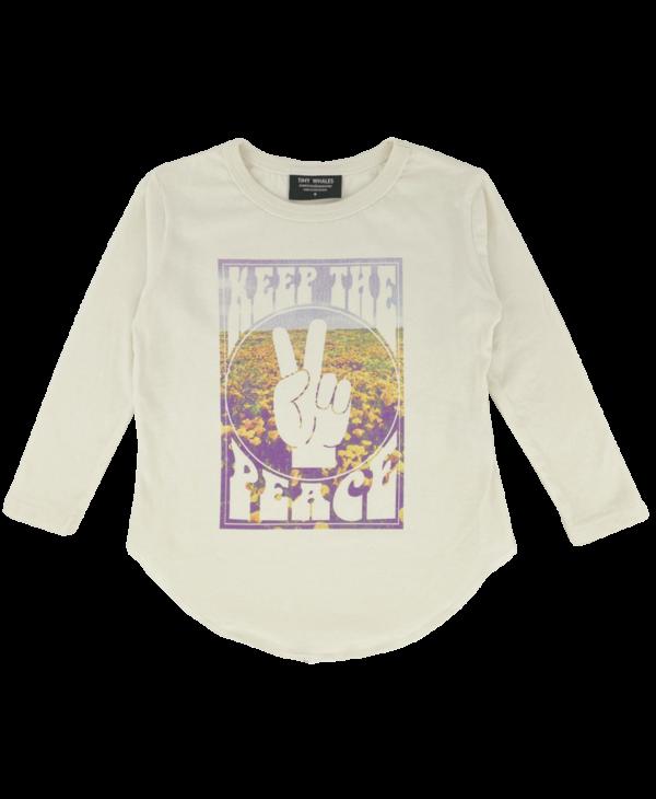 Keep The Peace Long Sleeve Tee
