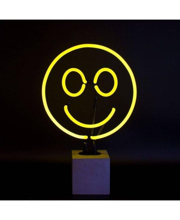 Neon Smiley Light