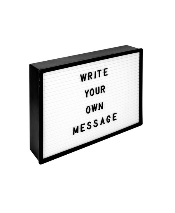 Light Up Letter Board