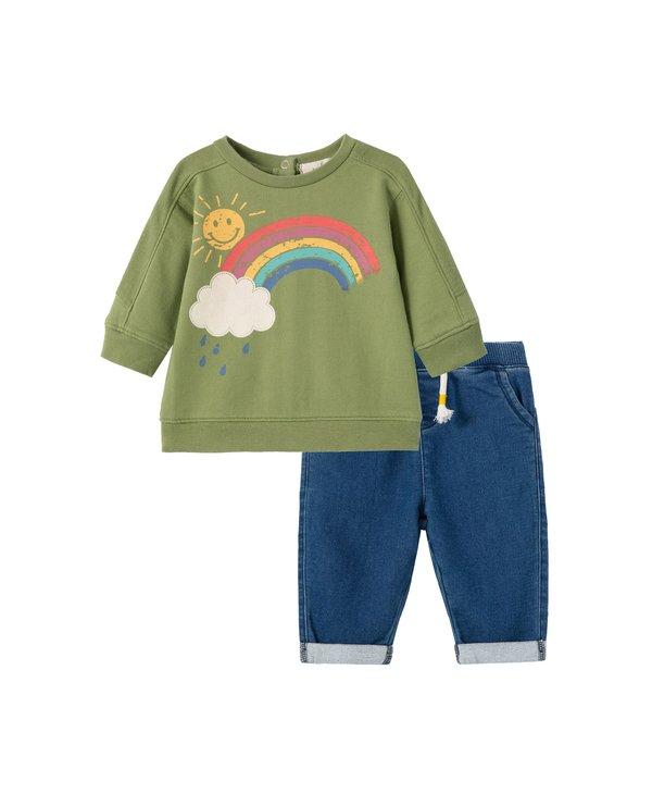 Rain & Sun Sweatshirt Set
