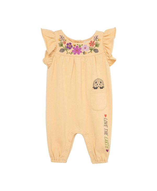 Love The Earth Flower Coverall