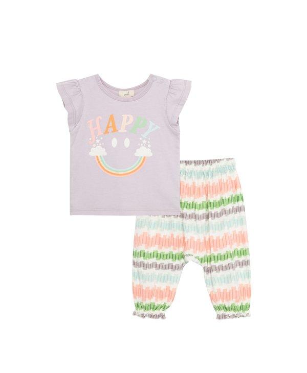 Happy Rainbow Pant Set
