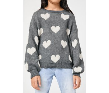 Heart Pullover Sweater