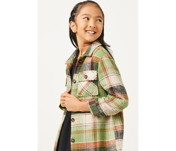 Button Up Plaid Shacket