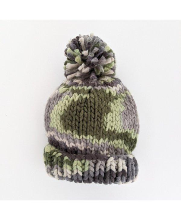 Camo Knit Beanie