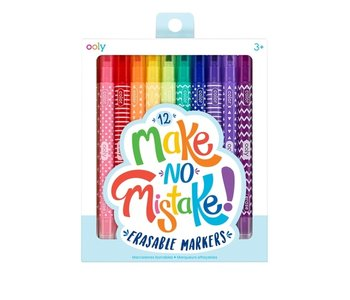 Make No Mistake! Erasable Markers