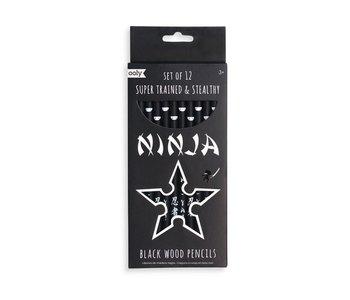 Ninja Pencils Set of 12