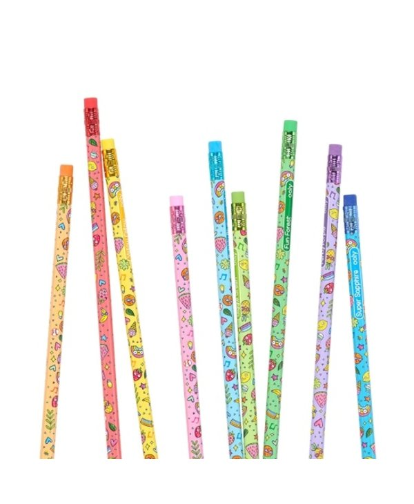 Fruity Scented Colored Pencils