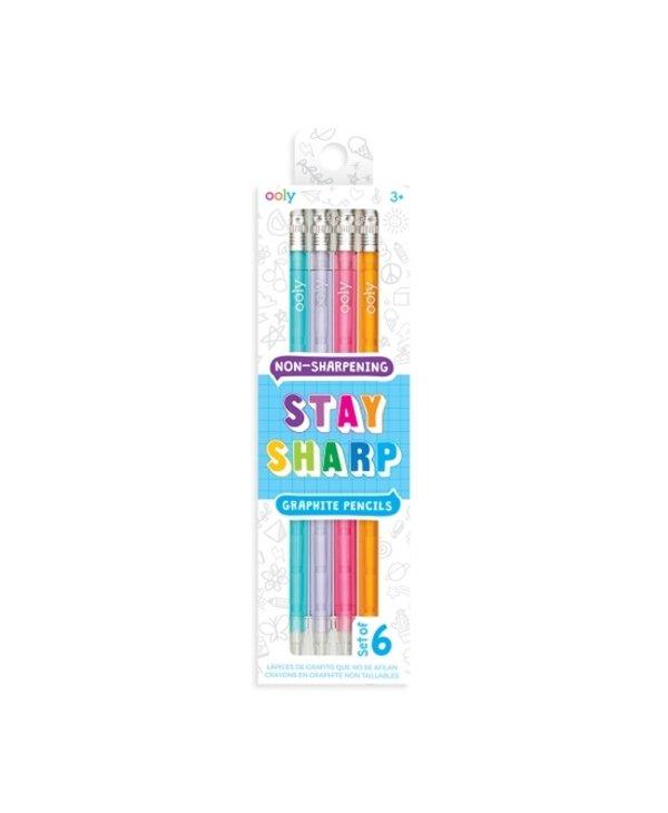 Stay Sharp Non-Sharpening  Pencils