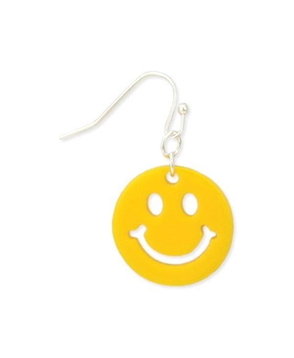 Smile Yellow Earrings