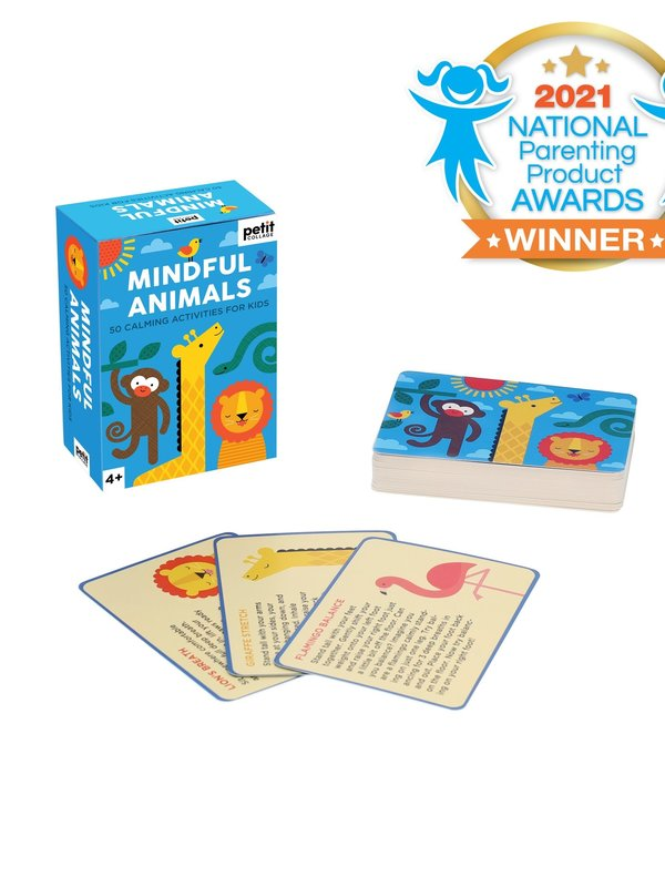 Chronicle Mindful Animals Calming Activity Cards