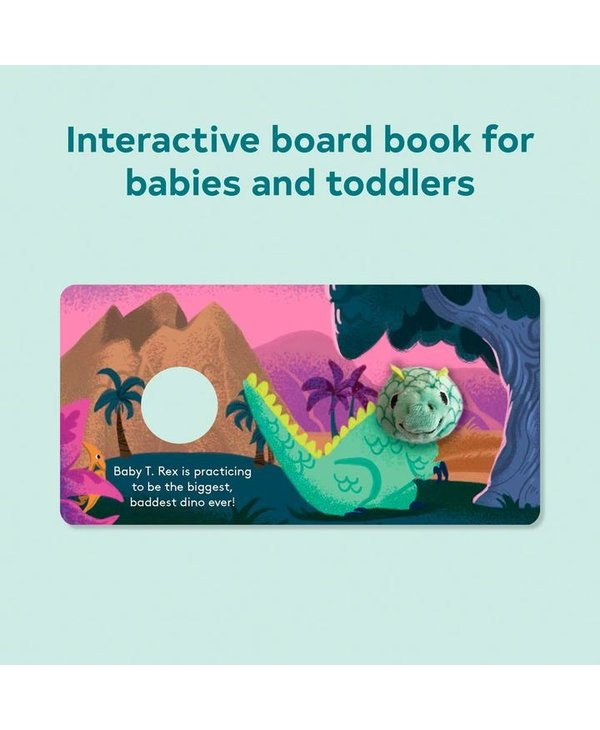 Baby T-Rex Finger Puppet Book