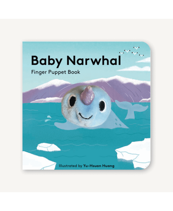 Baby Narwhal Finger Puppet Book