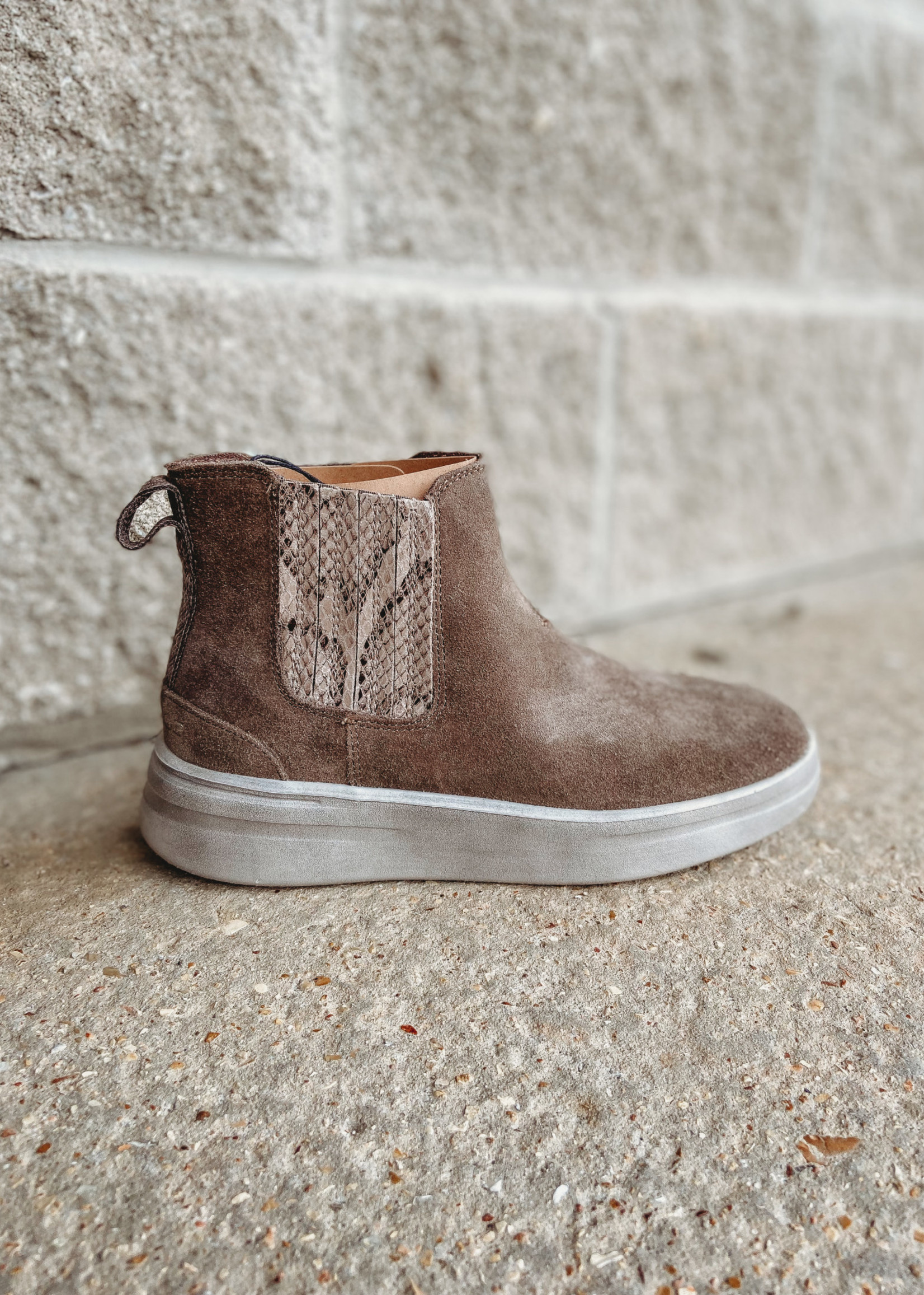 Hey Dude Hey Dude Vic Suede Fossil