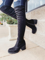 Chinese Laundry CL Linzy Tall Black Boot