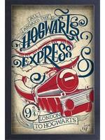 NEW! Harry Potter Hogwarts Express - Framed Print
