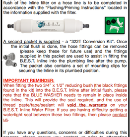 B.E.S.T B.E.S.T WATER FILTERS with 1/2 FBSP